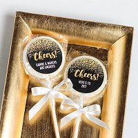 New Years Eve Party Supply and Favour Guide - Personalized Holiday Lollipops